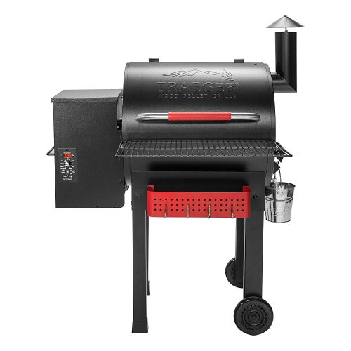 Traeger Grills TFB38TCA Renegade Elite Wood Pellet Grill and Smoker with Built In Tool Rack and Shelf