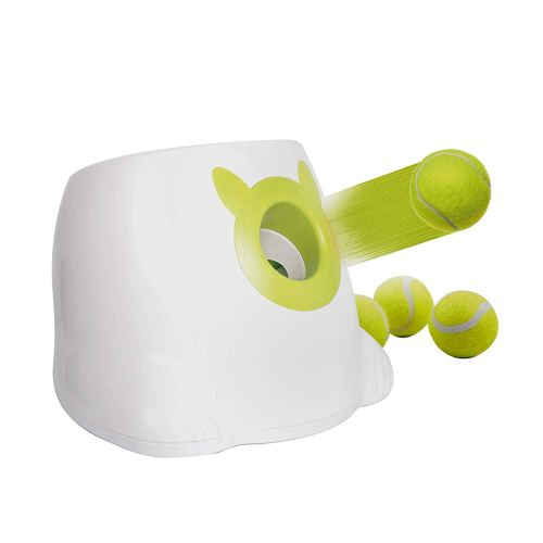 Livebest Mini Automatic Dog Ball Launcher Interactive Throwing and Fetching Machine for Dogs Toy