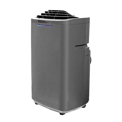 Whynter ARC-131GD 13,000 BTU Dual Hose Portable Air Conditioner, Dehumidifier, Fan with Activated Carbon Filter in Gray plus Storage bag for Rooms up to 420 sq ft