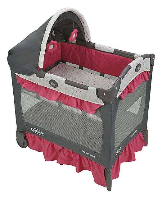 Graco Pack 'n Play Playard Travel Lite Crib, Alma