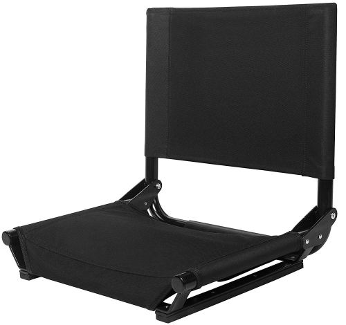 Cascade Mountain Tech Portable Folding Steel Stadium Seats for Bleachers