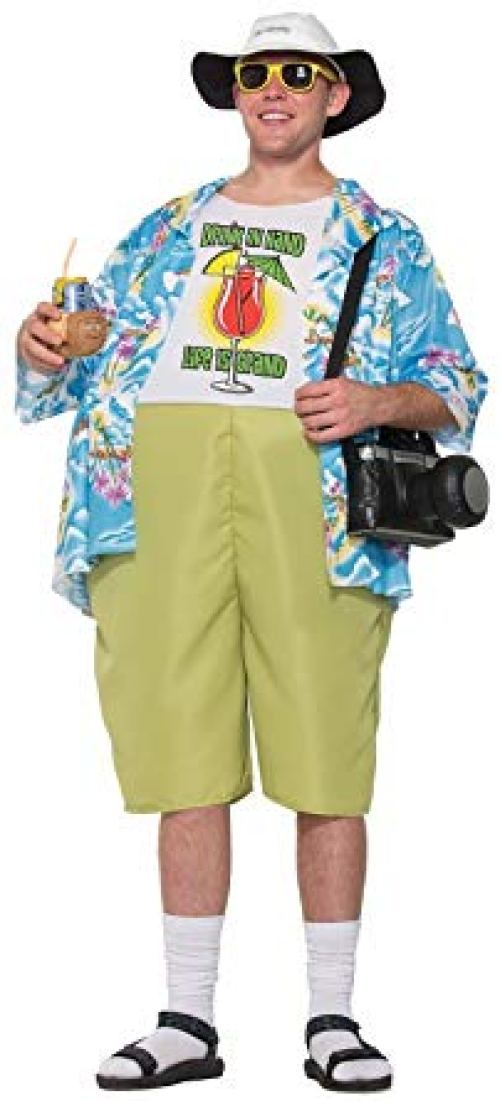 Forum Men's Tropical Tourist Costume