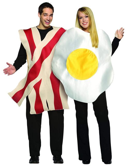Rasta Imposta Bacon and Eggs Couples Costume