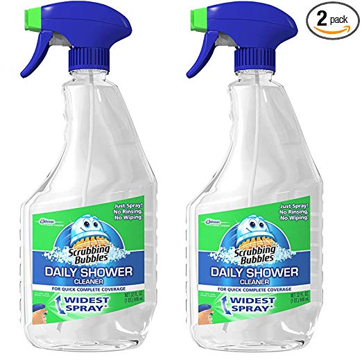 Scrubbing Bubbles Daily Shower Cleaner Trigger,