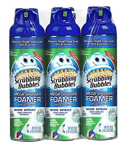 Scrubbing Bubbles Mega Shower Foamer - Automatic Shower Cleaners