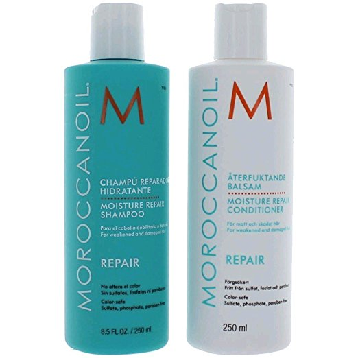 Moroccan Oil Moisture Repair Shampoo & Conditioner Combo Set