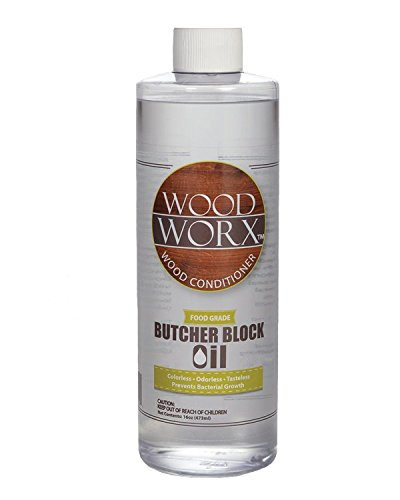 WoodWorx Butcher Block and Cutting Board Oil Conditioner