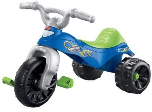 Fisher-Price Kawasaki Tough Trike, Blue/Green