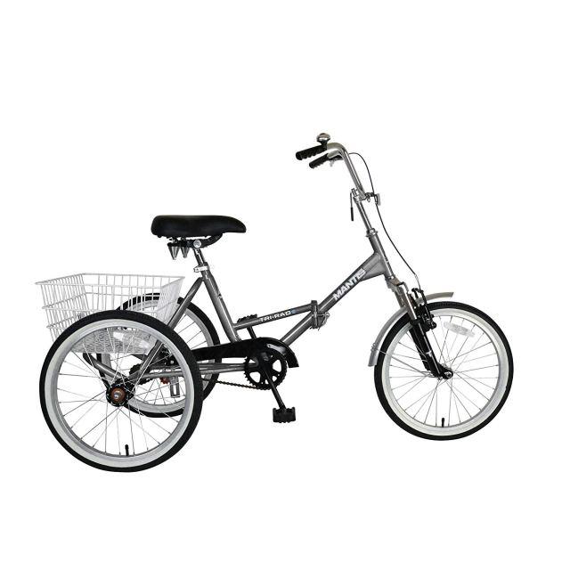 Mantis Tri-Rad Folding Adult Tricycle