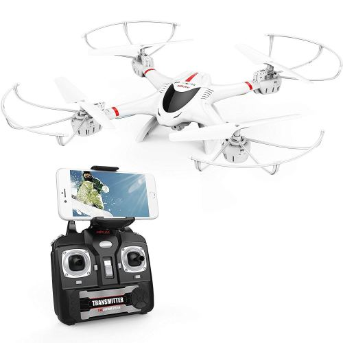 DBPOWER X400W FPV Quadcopter Drone with a WiFi Camera Video One Key Return Function
