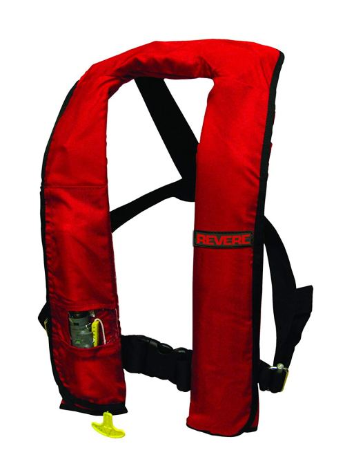 Revere Comfort Max Manual Inflatable PFD - Red