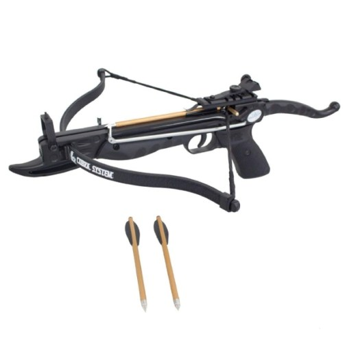 Prophecy 80 Pound Self-cocking Pistol Crossbow with Cobra System Limb
