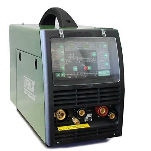 NEW 2019 Everlast PowerMTS 221Sti MODEL AC/DC TIG with PULSE/MIG / Stick 200amp 110v/220v Multi Process Welder