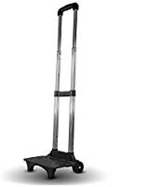 Folding Compact Lightweight Durable Luggage Cart Travel Trolley