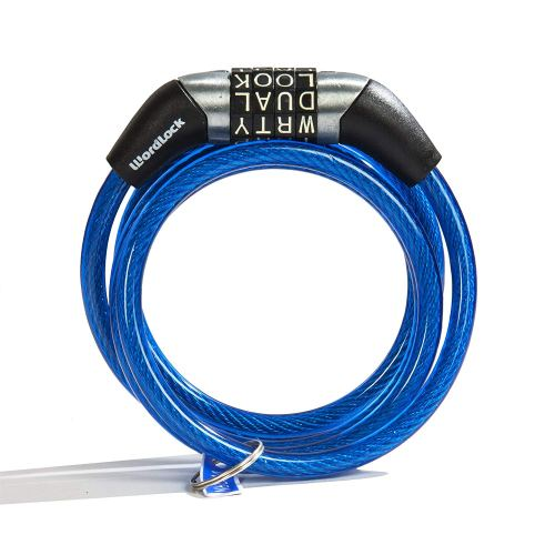 Wordlock Non-Resettable Combination Cable Lock