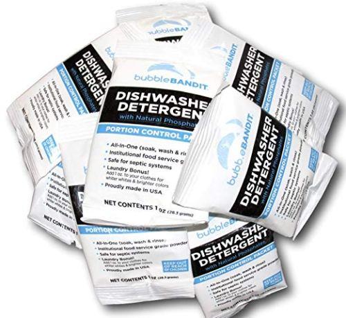Bubble Bandit Dishwasher Detergent with Natural Phosphates