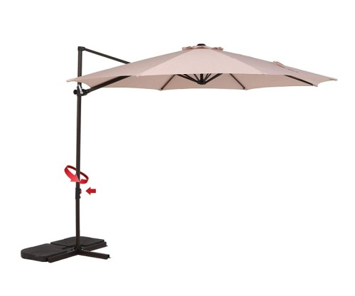 Grand patio Simple Style 10 FT Offset Umbrella