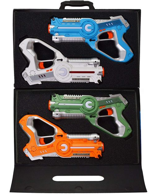 Laser Tag Set Toys and Carrying Case for Kids