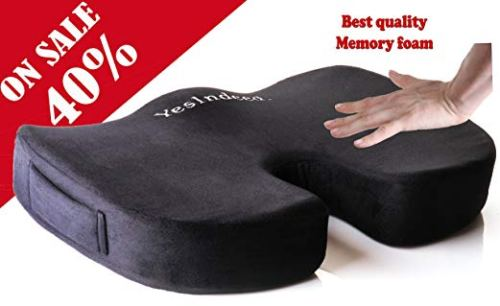 Memory Foam Orthopedic Coccyx Pillow