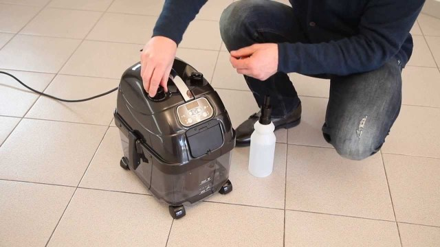 Vacuum Steam Mop Combo