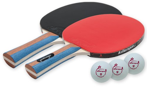 Killerspin JETSET 2 - Table Tennis Set with 2 Ping Pong Paddles and 3 Ping Pong Balls