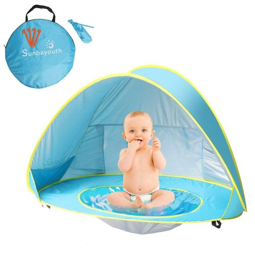 Sunba Youth Pop up Portable Shade Pool UV Protection Sun Shelter