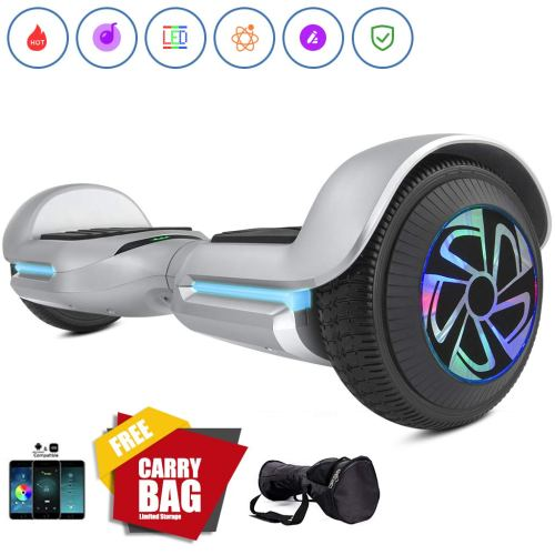 Spadger SS-1Jr 6.5'' Hoverboard, BLE Speaker & LED Lights APP Enabled, UL 2272 Certified Self Balancing Scooter - Cheap Hoverboards under 250$