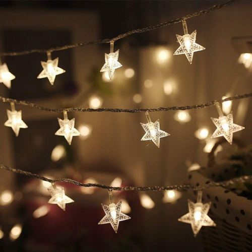 Twinkle Star 100 LED 49 FT Star String Lights