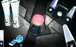 LED Dancing Water Speakers