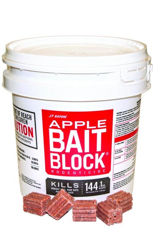 JT Eaton 709-AP Bait Block Rodenticide Anticoagulant Bait