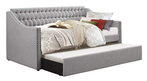Homelegance 4966 Tulney Fabric Upholstered Daybed
