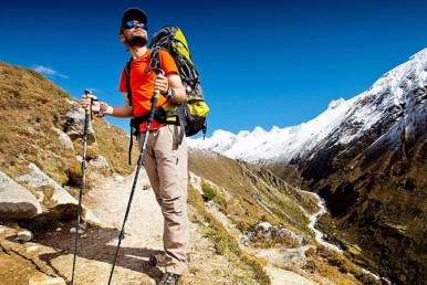 Trekking Poles for Hiking and Walking