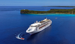 New Caledonia receives an average of three cruise ships a week