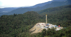 Oil Search's exploration site in the Highlands. Credit: Bob Armstrong
