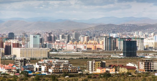 Mongolia's capital city, Ulan Bator