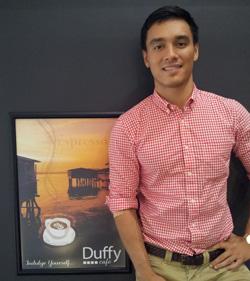 Travers Chue, Duffy cafe. Source: Business Advantage International