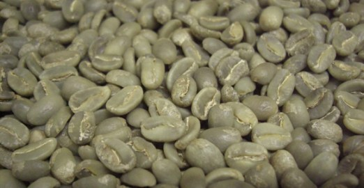 Green coffee beans. Credit: Mainland Holdings