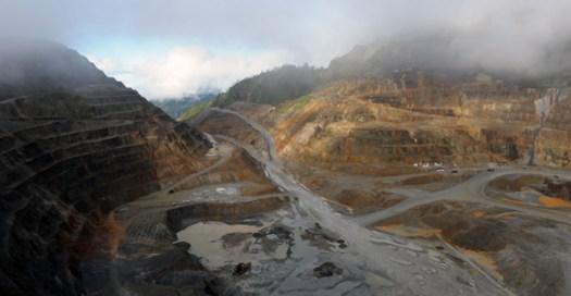 The Ok Tedi mine. Credit: PNGSDP