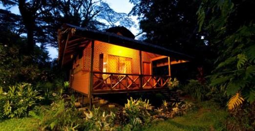 A Walindi bungalow. Credit: Juergen Freund