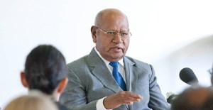 Bougainville's re-elected President, John Momis