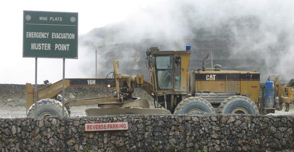 Ok Tedi Mine. Credit: BAI