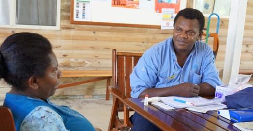 Offering health care on Lihir Island. Credit: International SOS