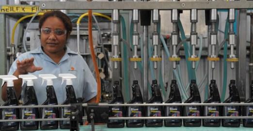 Lae-based manufacturer K K Kingston is just one of a number of manufacturers making major investments in new plant. Credit: K K Kingston