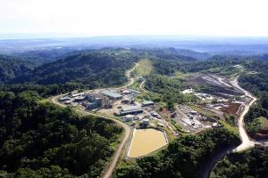 Gold Ridge mine site. Credit: St Barbara.