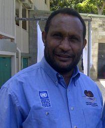 Western Highlands Provincial Support Adviser, Philip Angopa
