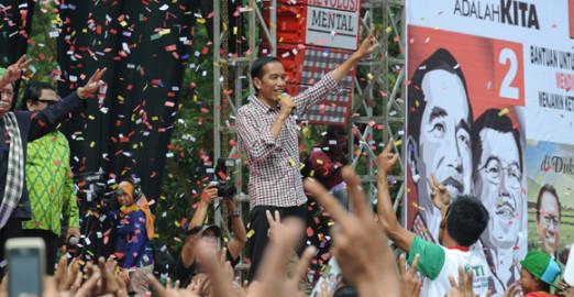 Indonesia's President-elect, Joko Widodo