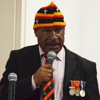 PNG High Commissioner to Solomon Islands, Fred Yakasa. Credit: Solomon Star.