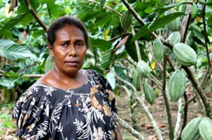 Women provide 70% of the labour for PNG agriculture. Credit: World Bank