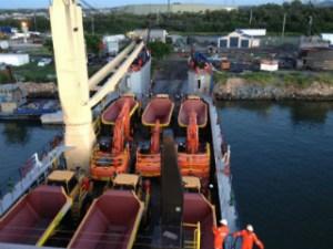 Bismark Maritime's liner service. Credit: Bismark Maritime.