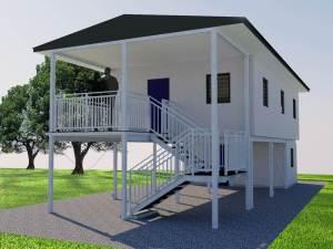 A model Amode RCS PNG house